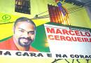 A festa de inauguração do comitê de Marcelo Cerqueira